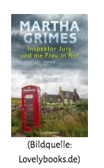 martha grimes-inspector jury und die frau in rot-rezension-the booklettes