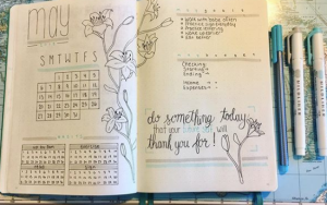 Bildbeispiel Bullet Journal, The Booklettes